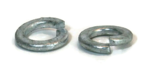 3//8 OD 0.68 ID 0.385 Split Ring Lock Washer Hot Dip Galvanized Qty-100