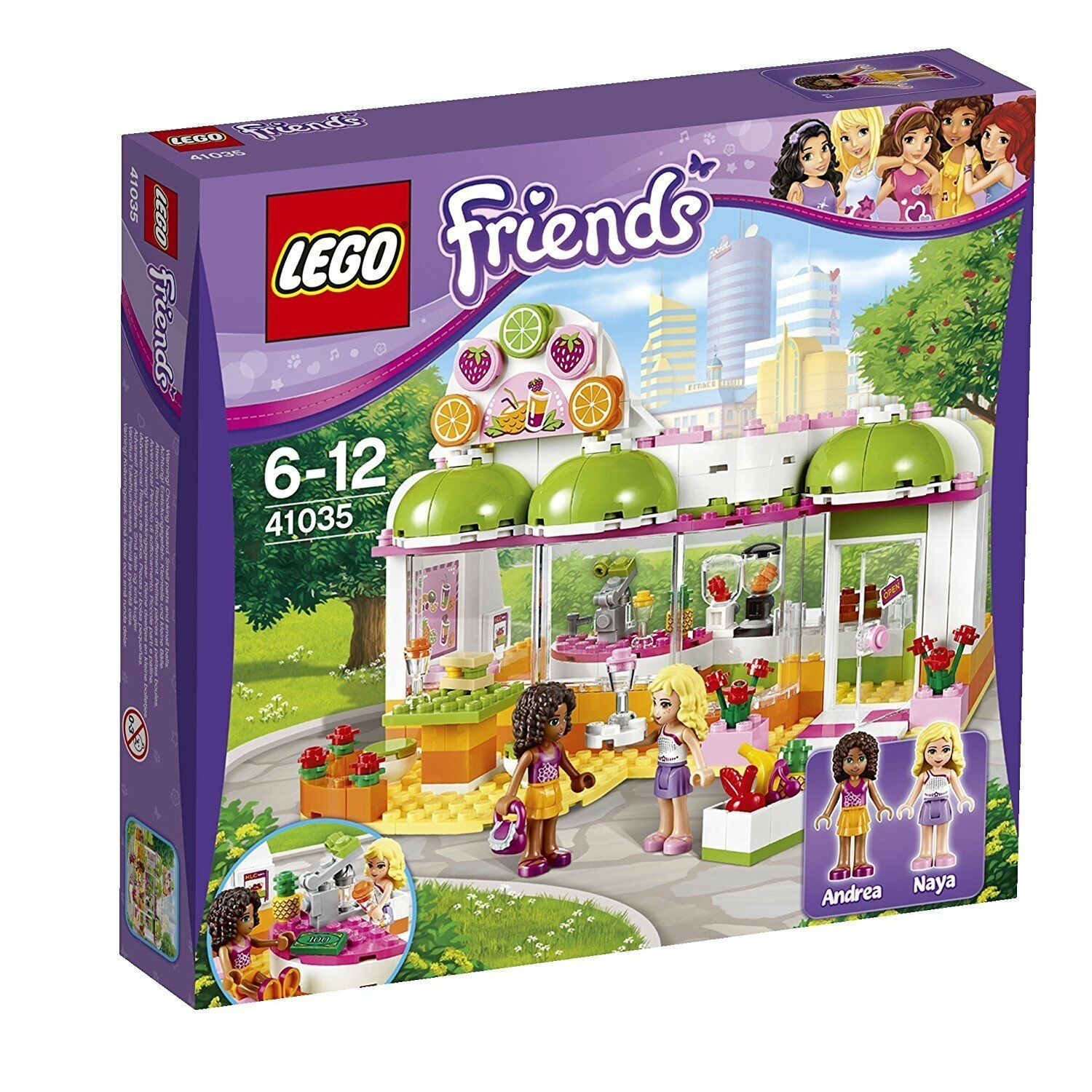 LEGO ® Friends 41035 Heartlake succo - & smoothiebar NUOVO NEW OVP MISB