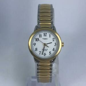Timex-Womens-Indiglo-Silver-Tone-Stainless-Steel-Band-Quartz-Analog-Watch