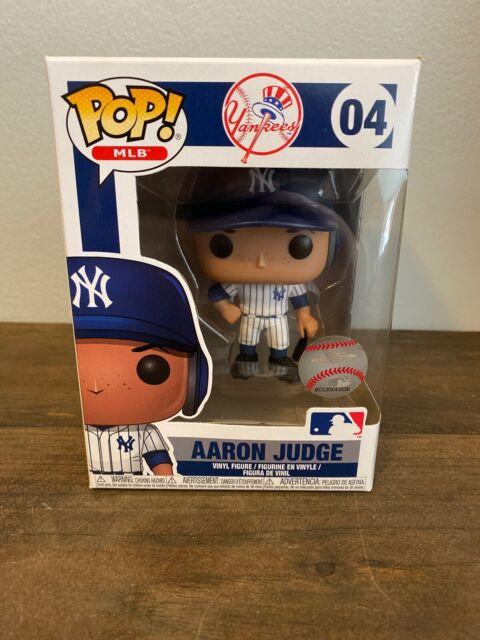 Funko POP Aaron Judge New York Yankees White Jersey #4 MLB Baseball Vinyl Figure