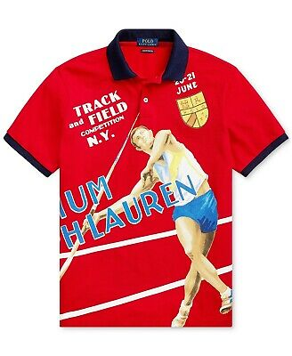 Polo Ralph Lauren Chariots Track-And-Field Polo Olympic Game Javelin XL SOLD OUT