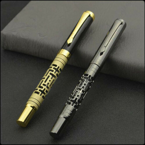 Luxus Füller Füllfederhalter aus Metall 0,5mm Feder Neu