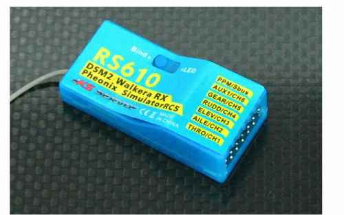 KS-SERVO-RS610-DEVO-2-4GHz-7CH-DSSS-PPM-PWM-S-bus-Receiver