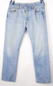 Levi's Strauss & Co Hommes 501 Jeans Jambe Droite Taille W36 L34 BBZ397
