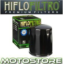 HIFLO BLACK OIL FILTER FITS HARLEY DAVIDSON FXDBI FXDB STREET BOB EFI 2006-2013