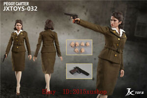 1//6 Scale JXTOYS 032 Peggy Carter Captain America 12in Action Figure IN STOCK
