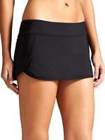 Athleta Kata Swim Skirt 2 /skort, Black Size Xl 153149 V531