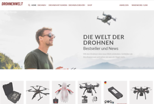 Wordpress Affiliate Webseite🔸 Webprojekt Drohnen Shop 🔸 TRAFFIC ANLEITUNGEN