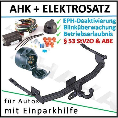 Anhängerkupplung ES7 Peugeot 306 Fließheck Schrägheck 93-01 DPC EPH-Abschaltung
