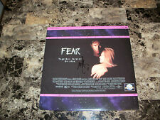 Mark Wahlberg Rare Authentic Hand Signed Fear 1996 Laserdisc Movie Film Actor