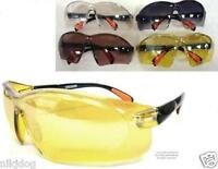 Safety Glasses Goggles Rubber Tipped Adjustable Arms Driving Household Projects