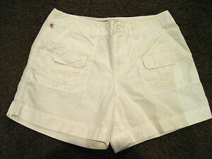 Cargo Size Polo About New Womens Lauren White Ralph Details Riptide Shorts 8 uTJcF35lK1