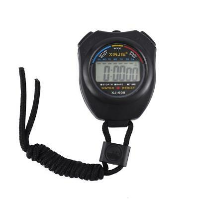 Cronômetro Profissional parar Relógio Lcd Digital Cronógrafo Temporizador Contador Sports
