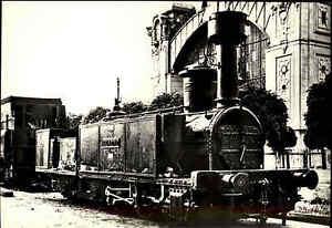 Eisenbahn-Motiv-Postkarte-CSSR-Lokomotive-Lok-Locomotive-Lodomotiva-034-Kladno-034