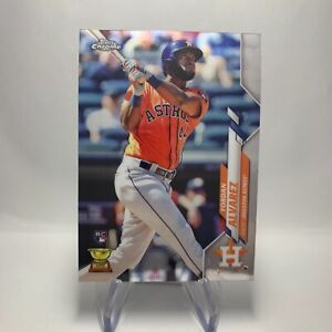 MLB 2020 Topps Chrome Yordan Alvarez Houston Astros Rookie Card 276 RC Cup