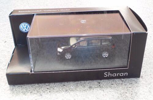H0, 1:87 HERPA Sammlermodell VW Sharan schwarz Facelift NEUWARE