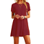 Women-039-s-Cotton-Short-Sleeve-Solid-Loose-Tunic-Top-Shirt-Blouse-Dress-Plus-Size thumbnail 6