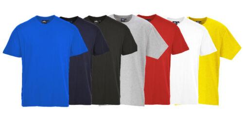 ALL COLOURS PORTWEST B195 Turin premium cotton Tee T-shirt size XS-3XL