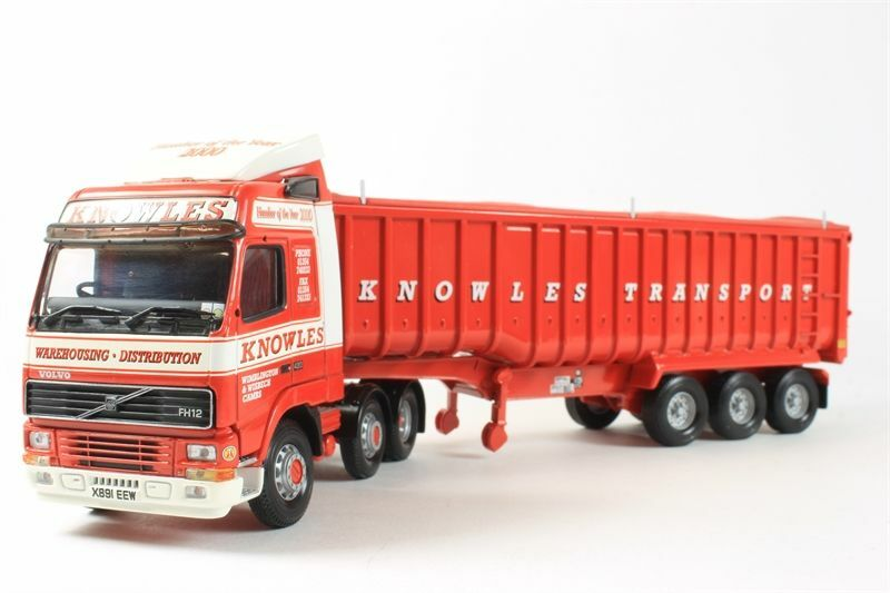 CORGI HEAVY HAULAGE moderne camions CC12410 Volvo FH Bulk Tipper Knowles 1/50 | Achats En Ligne