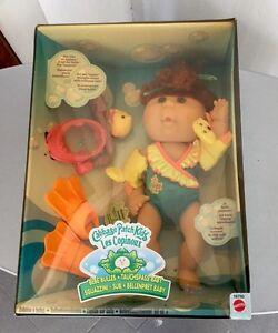 1998-CABBAGE-PATCH-KIDS-fun-bubble-baby-doll-swim-snorkel-NIB