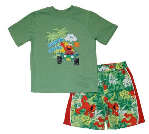Sesame Street Toddler Boys Beach Drive 2pc Board Short Size 2T 3T 4T