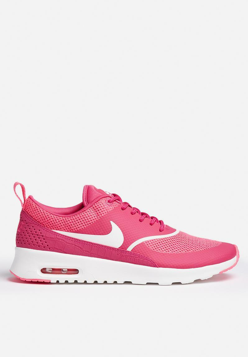 Womens Nike Air Max Thea Women's 599409-609 Vivid Pink Running Shoes Price reduction best-selling model of the brand