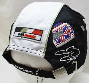 JENSON BUTTON BAR HONDA FORMULA 1 RACING TEAM OFFICIAL CAP - NEW ... e49668785678
