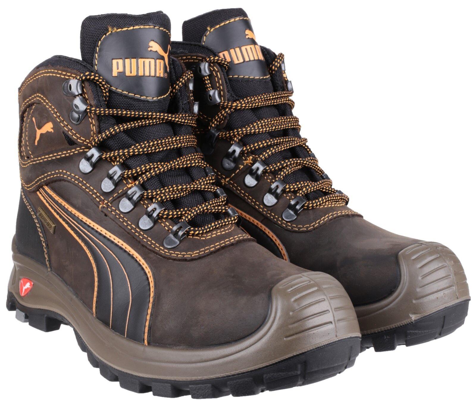 Puma Sierra Nevada Mid Marrone s3 SRC sicurezza COMPOSITO uk6-13 Puntale Stivali Da Uomo uk6-13 COMPOSITO 62d6e7