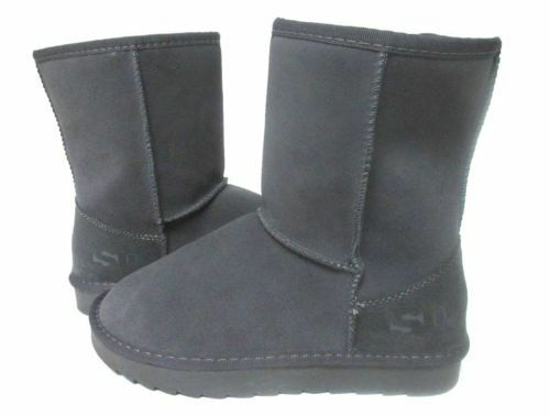 NEW WOMEN BOOT SO BRAND CLASSIC SHORT GREY 1233 ORIGINAL