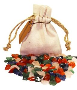 Weight Loss Power Pouch Healing Crystals Stones Set Tumbled Natural Gemstones