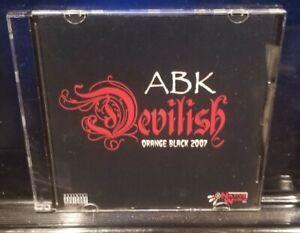 Anybody Killa - Devilish Orange Black 2007 CD ABK twiztid juggalo icp dark lotus