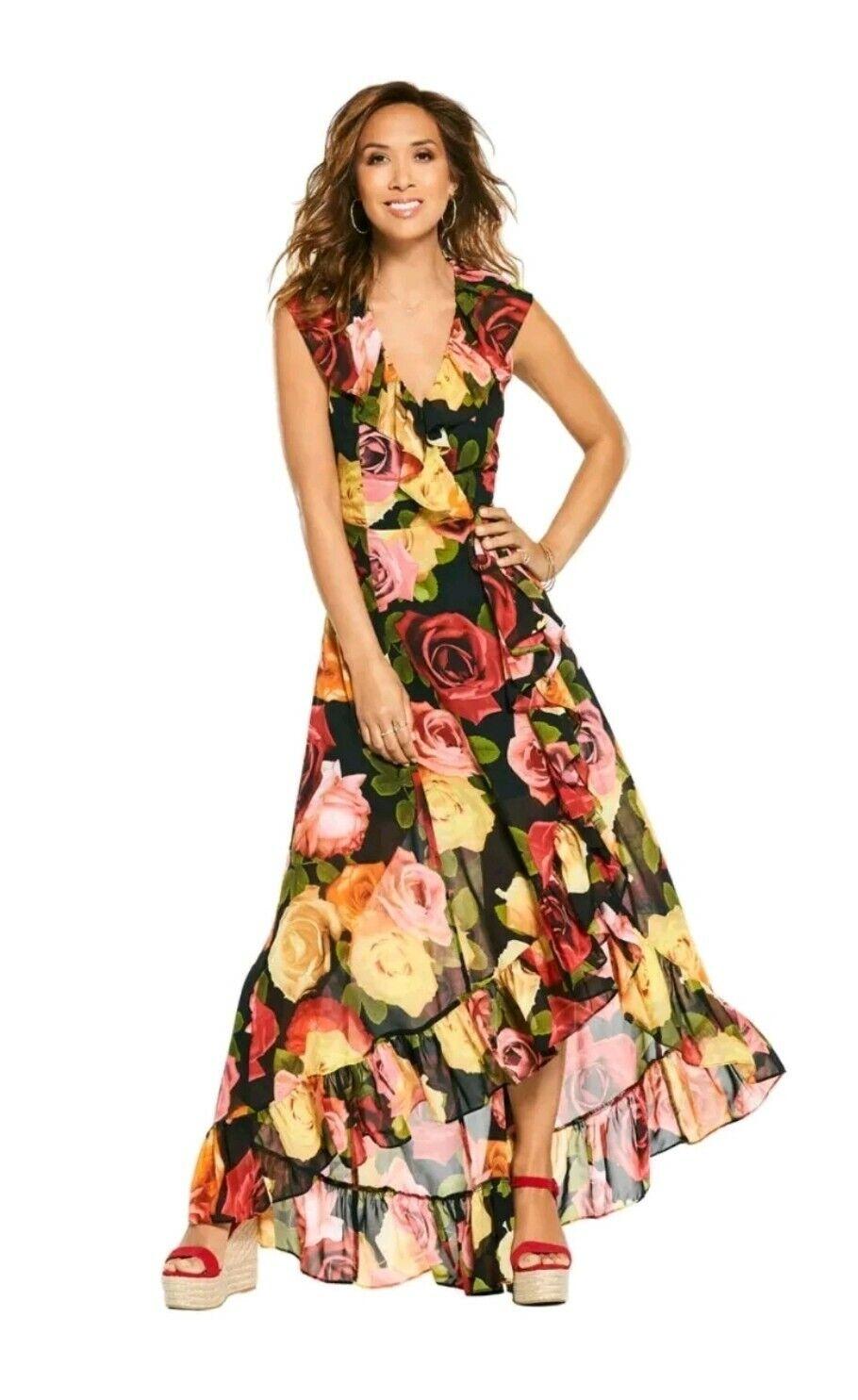 Myleene klass Floral long to the floor dress BNWT Sleeveless