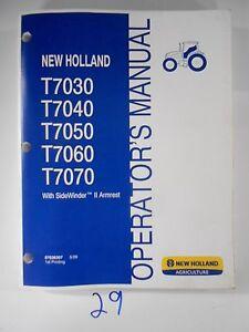 new holland t7030 t7040 t7050 t7060 armrest tractor operator owner s rh ebay com New Holland T4020 New Holland Square Baler