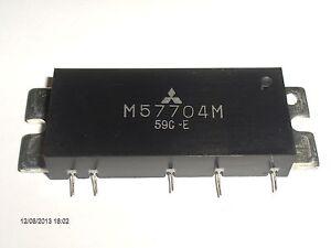 M57704M MITSUBISHI FINAL HYBRID 430-450MHz 12.5V 13W FM RADIO TW-4000 KENWOOD s42sDuWm-07170533-475094456