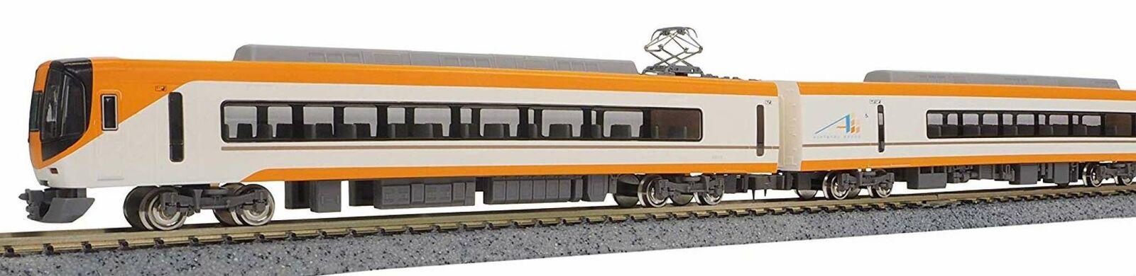 Greenmax N gauge Kintetsu 22000 series ACE renewal car with power 30756