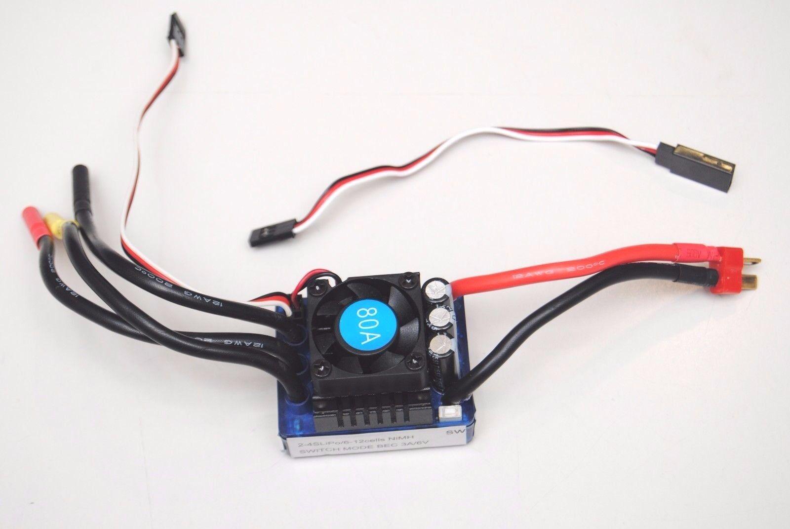 85261 ESC Regolatore di Velocita' 80A VRX ESC CRUIS CONTROL 80A VRX