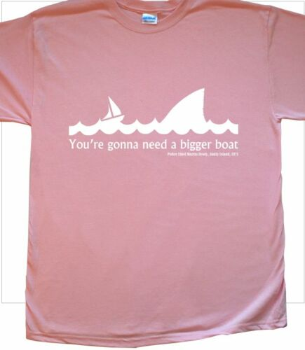 /'Gonna Need a Bigger Boat/' Movie T-Shirt Inspired by Jaws