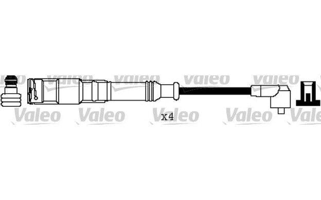 VALEO Juego de cables encendido para VW GOLF SEAT IBIZA CORDOBA AUDI 346220