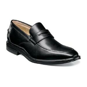 Florsheim Imperial Heights Penny Loafer Mens shoes Black Leather 14171-001
