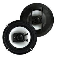 Boss R63 6.5 Inch 300w 3 Way Car Audio Coaxial 4 Ohm Stereo Speakers (pair) on sale