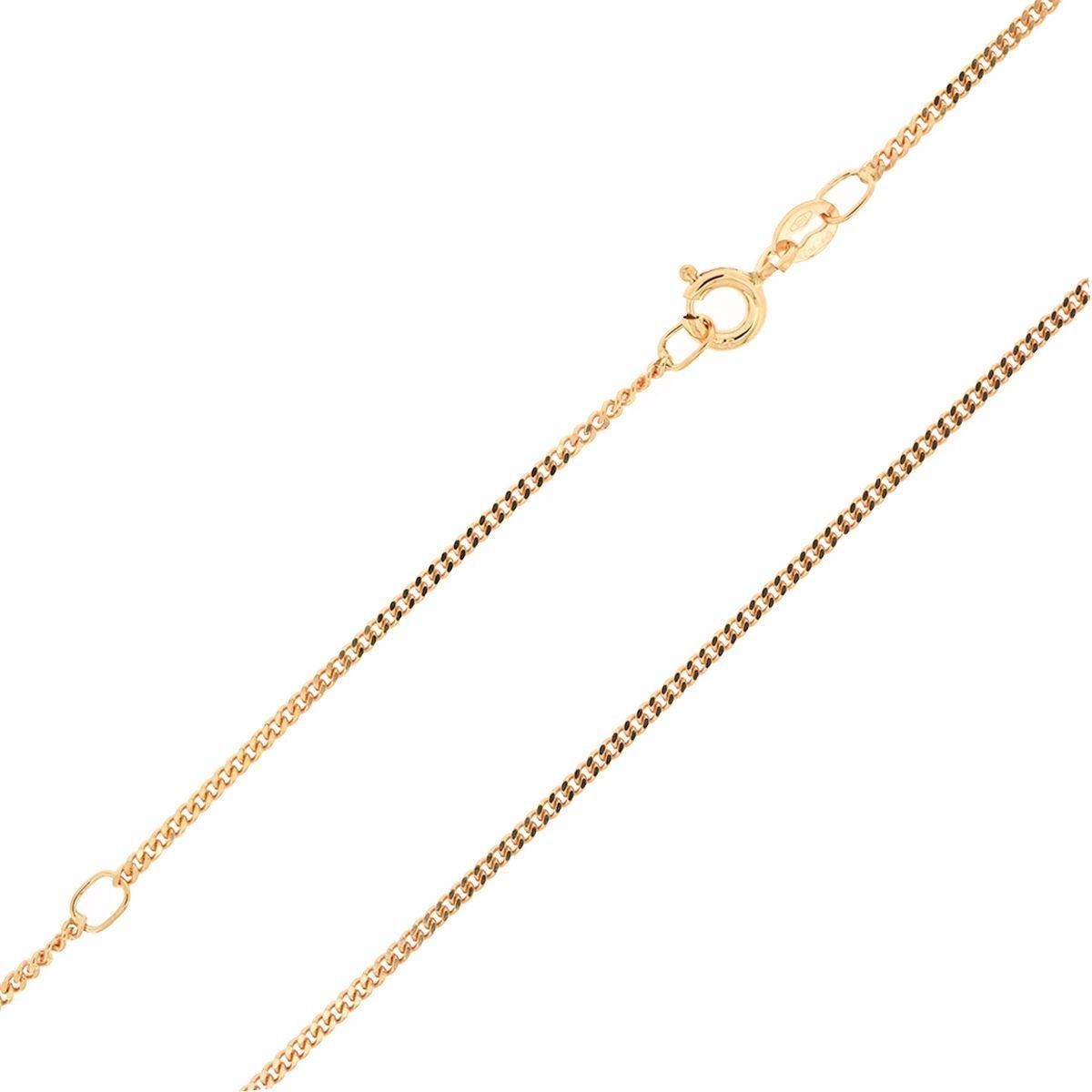 NUOVO gioielli gioielli gioielli 20 pollici solido 9 Carati oro rosa Catena Cordolo COLLANA 2 7 G 354240