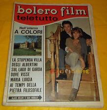 BOLERO FILM 1967 n. 1048 Alain Delon, Rita Pavone, Sophia Loren, Johnny Dorelli