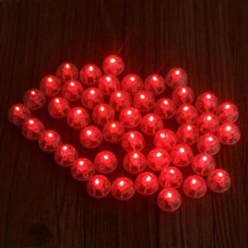 LED Ball Lamps Balloon Light for Lantern Wedding Halloween Party Christmas Decor