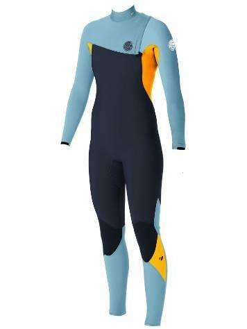 Rip Curl Womens G BOMB 3 2 mm ZIP FREE Steamer Wetsuit New - WSM5HG Slate orange
