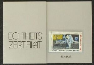 s1643-USA-MiNr-990-Fehldruck-MNH-red-Patch-omitted-from-astronauts-shoulder