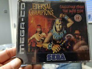 Eternal Champions Sega Mega Cd SPINE CARD
