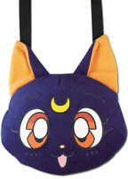 Sailor Moon Luna Head Plush Bag By Ge Animation