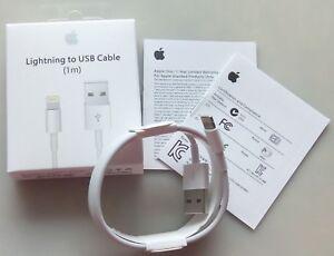 Original Apple iPhone 5s 6s 6+ 7+8 X Lightning USB Daten Ladekabel Cable Charge
