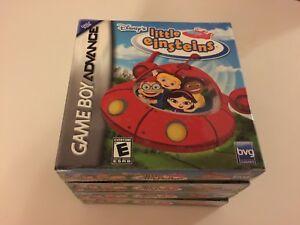 Disney's Little Einsteins (Nintendo Game Boy Advance, 2006) GBA NEW