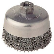 Harbor freight tools 4 crimped wire bevel brush ebay atd tools 8230 4 crimped wire cup brush greentooth Images